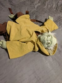Yoda back pack Halloween costume