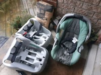 Infant carseat and inserts Barrie, L4M 6M7