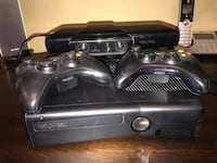 black Xbox 360 console with controllers Long Beach, 90802
