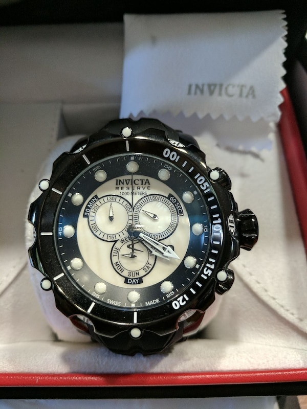b9ae61443 Used Invicta Reserve Venom, Swiss Made, WR 1000 MT for sale in ...