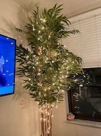 7foot Fake Tree in Mint Condition