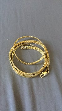 "Gold Filled 26"" Flat Link Cuban Necklace. Las Vegas, 89106"