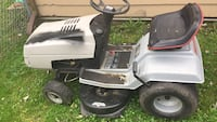 White and black ride-on mower Lake Villa, 60046