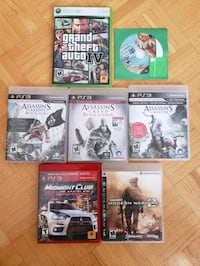 Playstation 3 (PS3) Games Lot Toronto, M2M 3S9