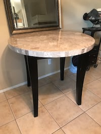 Marble table - sturdy and heavy Henderson, 89074