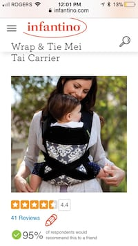 Baby Carrier - Mei Tai Whitchurch-Stouffville, L4A 1S6