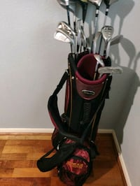 Golf clubs and bag Conroe, 77384