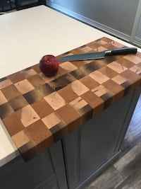 End Grain Cutting Board  Toronto, M9W 4H2