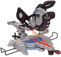 gray and black King miter saw