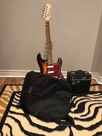 Black and brown electric guitar Brampton, L7A 2J2
