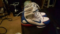 pair of white-and-blue Nike basketball shoes Augusta, 30906