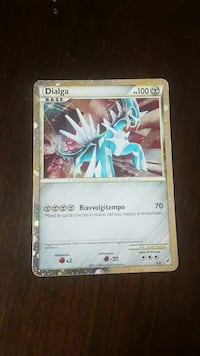 Dialga*ultra rara* pokemon trading card Bellusco, 20883