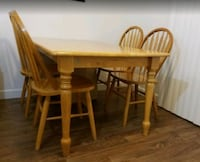 "All solid wood! Comes with 4 chairs. 60"" x 36"" Oceanside, 92057"