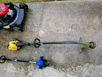 two blue and black string trimmers Pearland, 77581
