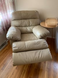 Leather rocker recliner Falls Church