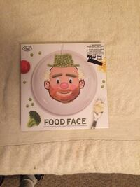 """Mr. Food Face 8.5"""" Ceramic Plate - Make Faces at the Table New in Box"""