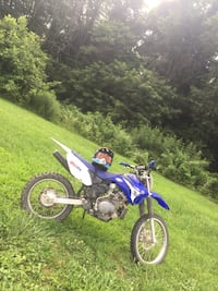 blue and white motocross dirt bike Weirton, 26062