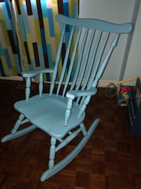 white wooden windsor rocking armchair Vaughan, L4L 7H5