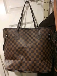 damier ebene Louis Vuitton leather tote bag Monrovia, 91016