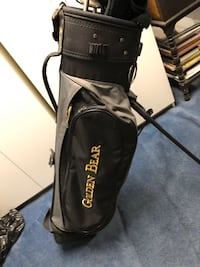 GOLDEN BEAR--DRIVER, 1,3 & 5 WOOD, 3-9, Putter, PW, BAG, COVERS.