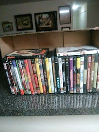 31 assorted dvd tapes $4 00 each $100  00 for them Silver Spring, 20910