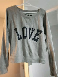 gray and black Pink by Victoria's Secret sweater Toronto, M4Y