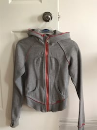 gray zip-up hoodie London, N5X 4H5