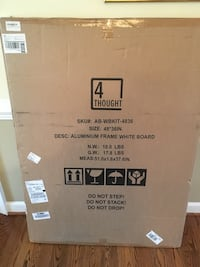 White board, new in box. Bought for $60 Gaithersburg, 20877
