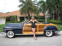 Chrysler Town and Country 1948 Boca Raton