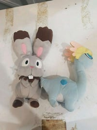 5 Pokemon plush. 30 dollars for all 3 Vaughan, L4J 7J7