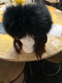 Faux fur stretchable head band