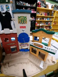Fisher Price Village Hotel, Store, Sheriff, Bank $12 Vancouver, V5T 1X9
