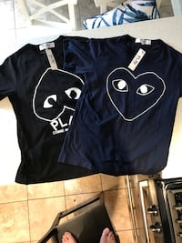 2 x CDG medium T-shirt's price is for both  Toronto, M2R 1M9