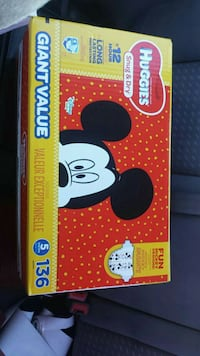 Size 5 Huggies diapers  Anchorage, 99504