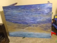 Hand painted personally table Gastonia