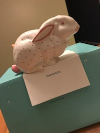 Tiffany & Co. Collectible ChinA Bunny BanK Manalapan, 07726