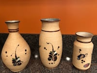 Pot and 3 vases from Mexico (sold as a set) Herndon, 20170