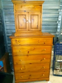 dresser and night stand $50