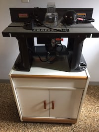 Router table with a 1 hp Rockwell router and bits Bell Acres, 15143