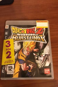 Playstation 3 Dragon Ball Burst Limit