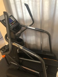Black and gray elliptical trainer (NordicTrack A.C.T.) Sterling, 20165