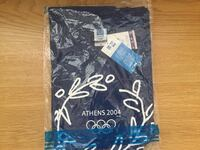Blue and white 2004 Olympics official merchandise T-shirtsSmall and large Los Angeles, 90041