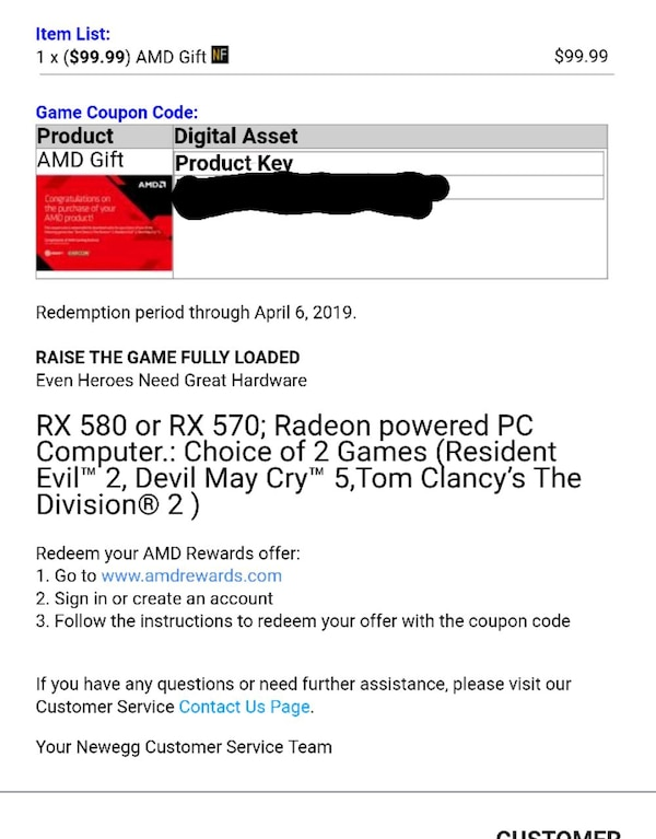 RX 580 RX 570 AMD DIVISION 2 RESIDENT EVIL 2