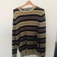 black and brown scoop neck sweater Oxon Hill, 20745