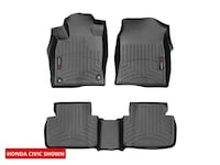 Like New  [TL_HIDDEN] 8 2019 Honda Civic WeatherTech FloorLiner