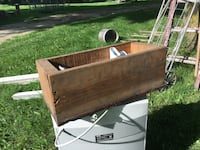 Wood toolbox or flower box Fort Atkinson, 53538
