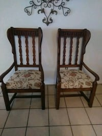 Reduced Price :Pair of Wingback Chairs Corpus Christi, 78410