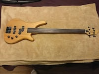 Stagg fusion fretless bass