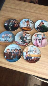 I Love Lucy collector plates  Henderson, 89002