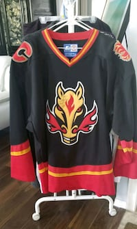 AUTOGRAPHED - Authentic Flames Jersey Calgary, T3G 5E8